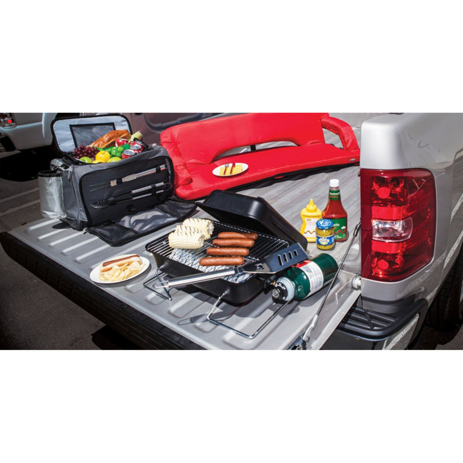Picnic Time Vulcan Tailgating Cooler and BBQ Set
