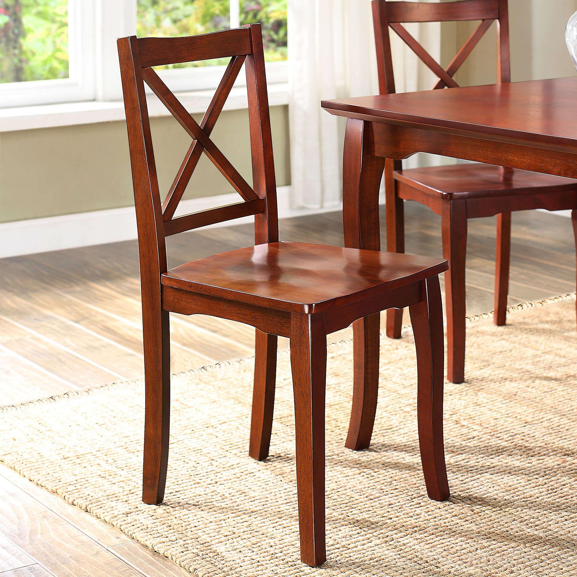 Better Homes and Gardens Ashwood Road Wood Dining Chair, Set of 2