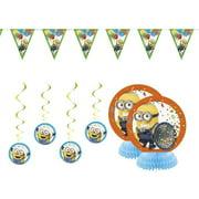Despicable Me 3 Minion Party Supplies Decorations Kit