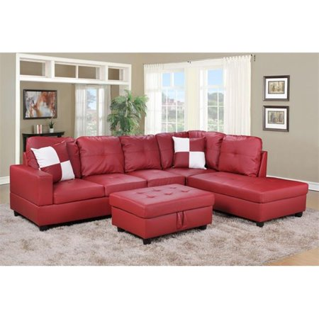 Lifestyle furniture lf094b urbania right hand facing for Sectional sofa 103