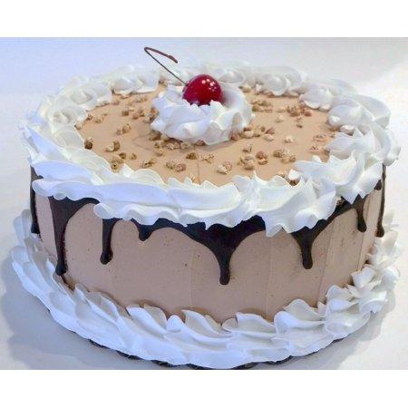 Large Chocolate Drizzle Fake Cake Display 9