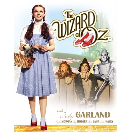 Wizard of Oz Dorothy with Toto Tin Sign - 12x16 - Wizard Of Oz Toto Dog In Basket