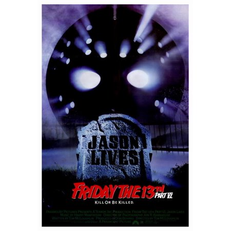 Friday the 13th Part 6 Jason Lives (1986) 27x40 Movie Poster