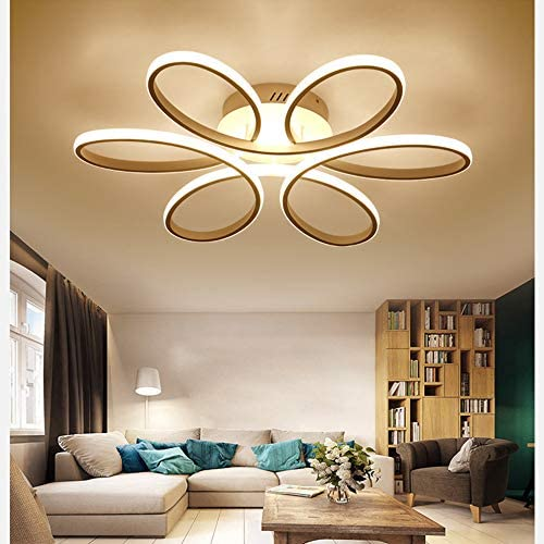 Dimmable Led Ceiling Light Modern Metal, Contemporary Living Room Ceiling Lights Uk