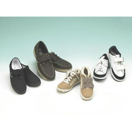Ableware 738170043 Wear Ease Shoe Fastener Kit-White-4/Pack