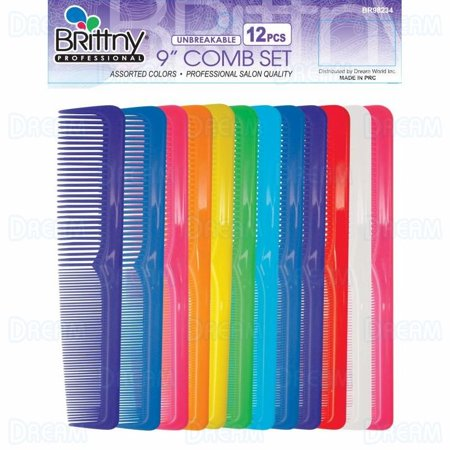Grooma Comb - Brittny Combs Course / Fine Toothed Dressing Grooming Styling Bulk 9