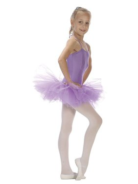 Sansha Purple 5 Layer Tulle Dance Tutu Ballet Skirt Little Girls 2T-14