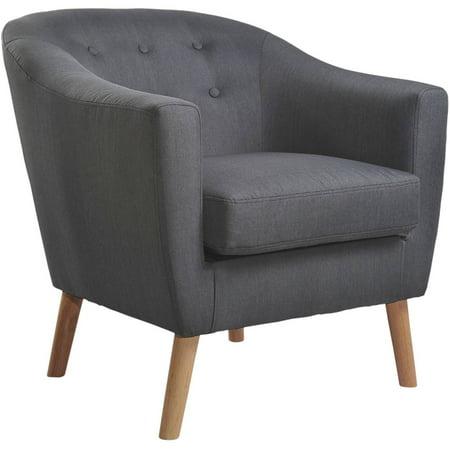 nathaniel home jason tub chair dark grey. Black Bedroom Furniture Sets. Home Design Ideas
