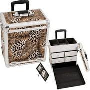 Sunrise E6302LPBR Leopard Brown Sp Drawer Tl Case - E6302