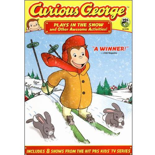 Curious George: Plays In The Snow And Other Awesome Activities (Full Frame)