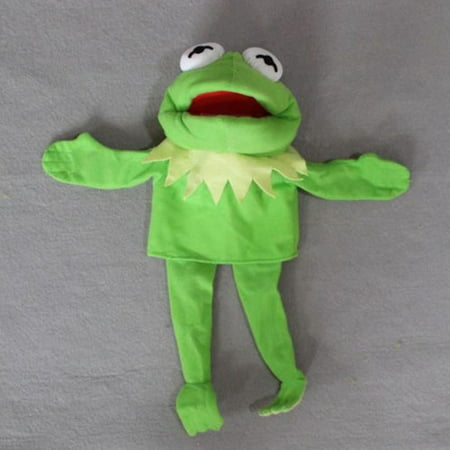 〖Follure〗Muppets Most Wanted Show Kermit the Frogs Plush Doll Hand Puppet Toy Gift