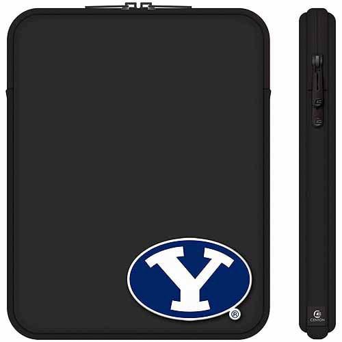 "Centon 10"" Classic Black Tablet Sleeve Brigham Young University"