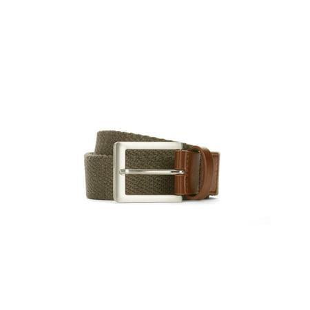 LPLP Linea Pelle Men's Webbing Belt (Linea Pelle Belted Belt)