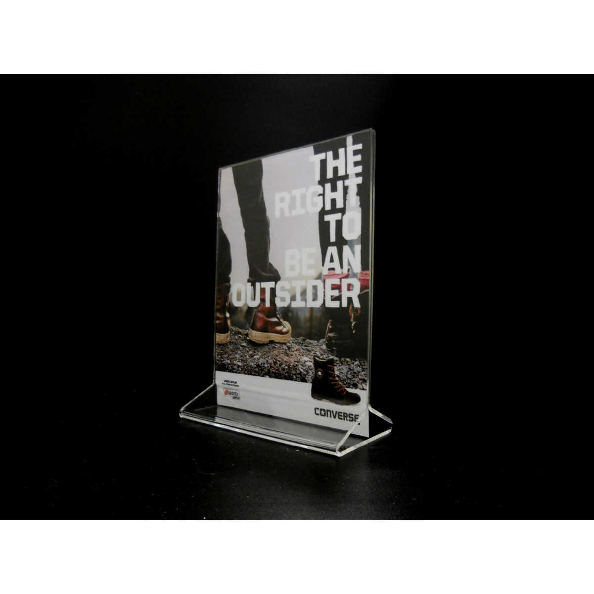 """Acrylic Top Loading Display Sign Holder 5"""" x 7"""" (Pack of 10) by Signworld America"""