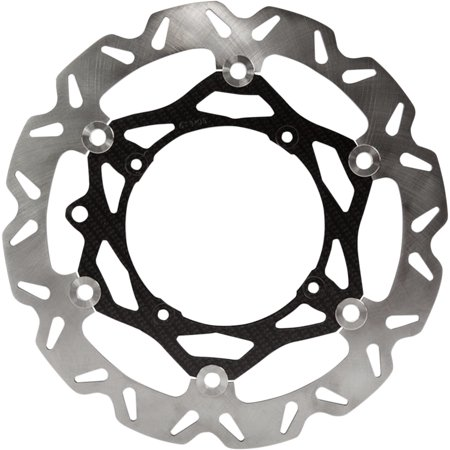 EBC Front Oversized 280mm Rotor Kit   OSX Carbon Look Disc OSX6932ORG (280 Mm Disc)