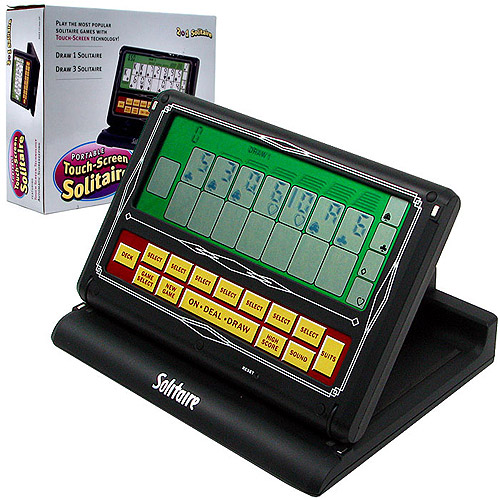 Trademark Poker 2-in-1 Touch Screen Portable Video Solitaire