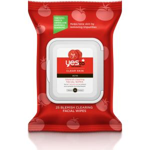 Yes To Tomatoes Clear Skin Blemish Clearing Facial Wipes - 30 Count