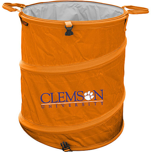 CLEMSON TIGERS OFFICIAL LOGO TRASH CAN COOLER