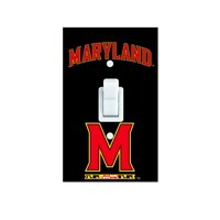 Maryland Terrapins Light Switch Cover