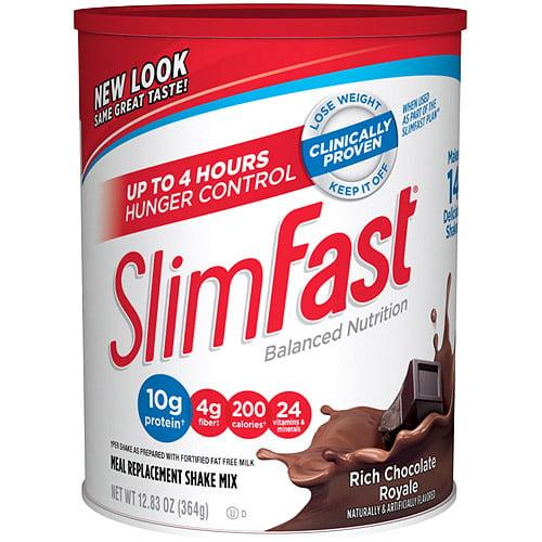 Slim-Fast Powder 3-2-1 Chocolate Royale 12.83oz