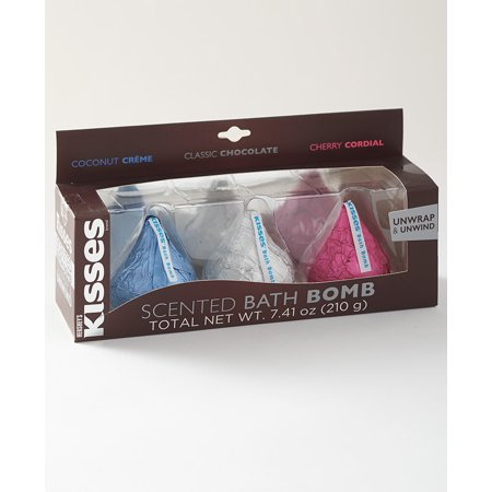 3-Pc. Hershey's Kisses Bath Bomb Set Cupcake Bath Bombs