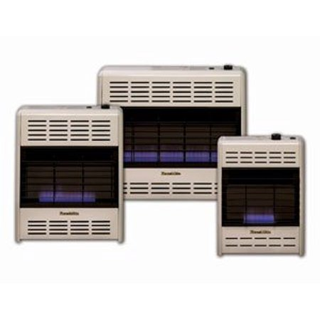 30000 Natural - HearthRite Vent-Free Blue Flame Heater Natural Gas 30000 BTU, Thermostatic Control