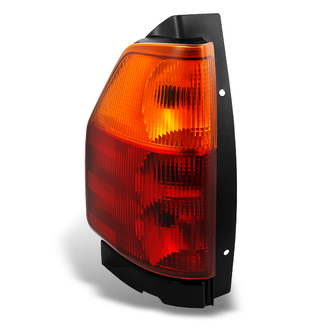 Fit 02-09 Envoy Red Amber Tail Lights Passenger//Right Assembly Replacement