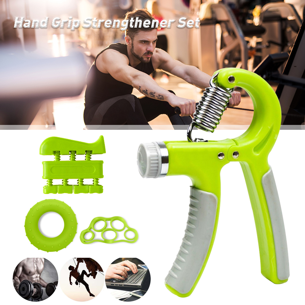 Adjustable WRIST BUILDER Hand Grip Forearm Spring Muscle Strength Endurance NEW