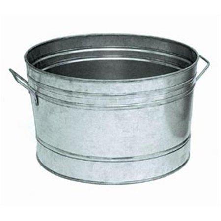 Galvanized Steel Tub Round Outdoor Cooler ()