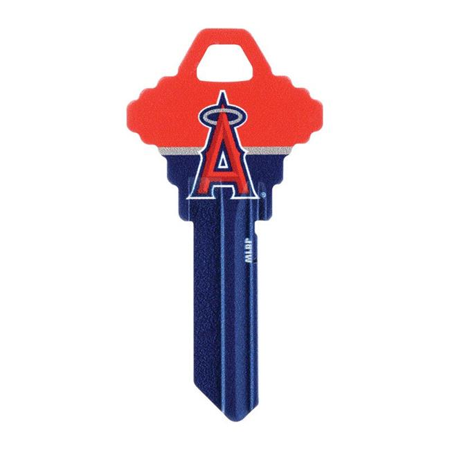 Hillman 5960760 Los Angeles Angels Painted Key House & Office Blank Single Sided Universal Key - Pack of 6 - image 1 of 1