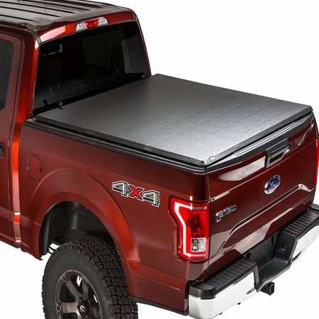 Gmc Truck Vinyl (Gator Hybrid Hard Folding Vinyl Tonneau Truck Bed Cover 2014-2018 Chevy Silverado GMC Sierra 8 ft)