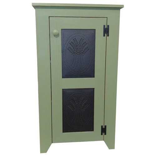 August Grove Swain Punched Tin Accent Cabinet