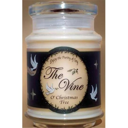The Vine Candles 119217 Candle Jar O Christmas Tree Soy John 12 46 12 Oz - image 1 of 1