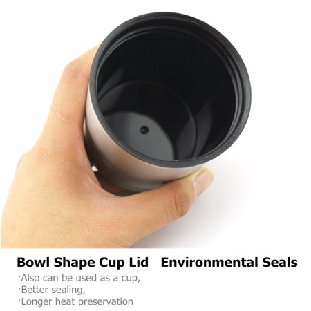 12V 304 Stainless Steel and Food Grade Material Car Stainless Steel Cigarette Lighter Heating Kettle Mug Electric Travel Thermoses Water Coffee Cup  - image 11 of 13