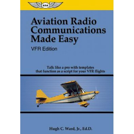 Aviation Radio Communications Made Easy : Talk Like a Pro with Templates That Function as a Script for Your VFR Flights