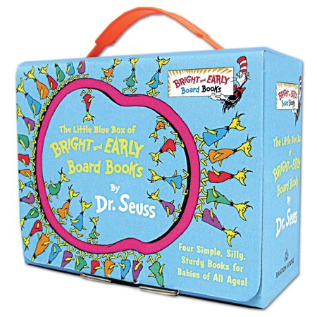Little Blue Box of Bright and Early Board Books (Board Book) ()