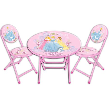 disney princess round table and chair set. Black Bedroom Furniture Sets. Home Design Ideas