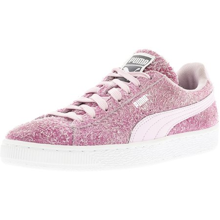 53dcec4ecfc4 Puma Women s Elemental Suede Lilac Snow   White Ankle-High Fabric ...