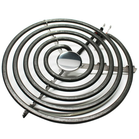 2-Pack Replacement Whirlpool RF263LXTQ3 8 inch 5 Turns Surface Burner Element - Compatible Whirlpool 9761345 Heating Element for Range, Stove & Cooktop - image 1 of 4