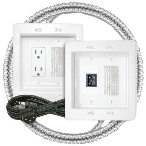 Midlite 22apjw-7r-mc Power Jumper[tm] Hdtv Power Relocation Kit [includes Pre-wired Metal Clad Cable]