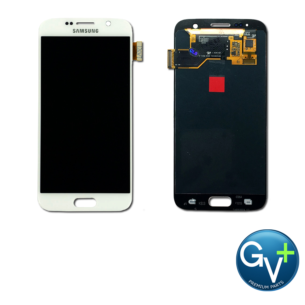 OEM Touch Screen Digitizer and AMOLED for Samsung Galaxy S7 - White Pearl (SM-G930)