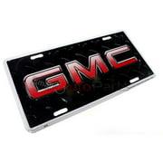 SmallAutoParts Aluminum License Plate - Gmc