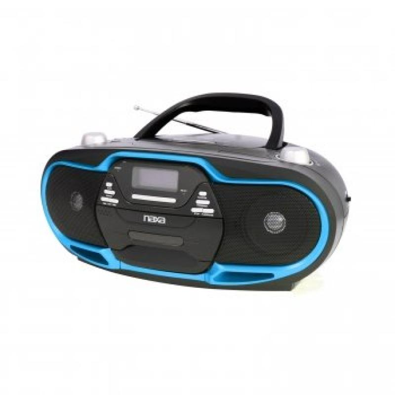 Exclusive Naxa NPB-257 Portable MP3/CD Player, AM/FM Ster...