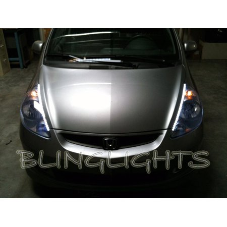acura rsx led drl light strips for headlamps headlights head lamps