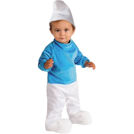 Lady Smurf Costume (The Smurfs Baby Smurf Young Children's)