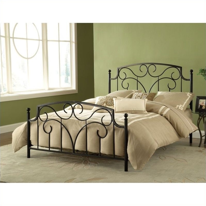 Hillsdale Cartwright Bed in Magnesium Pewter-Full