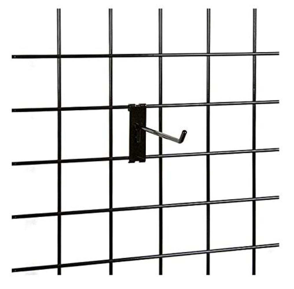 NAHANCO GWH4B Gwh4 4 Black Gridwall Hooks Pack of 12