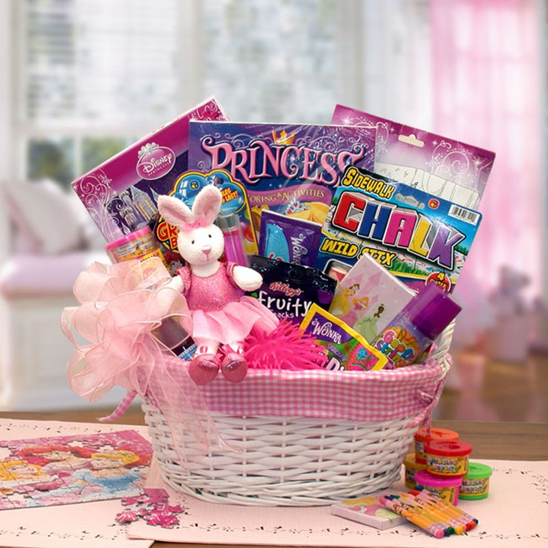 A Little Disney Princess Gift Basket
