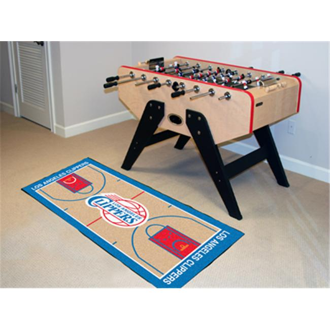 FANMATS 9490 Los Angeles Clippers NBA Court Runner 24x44