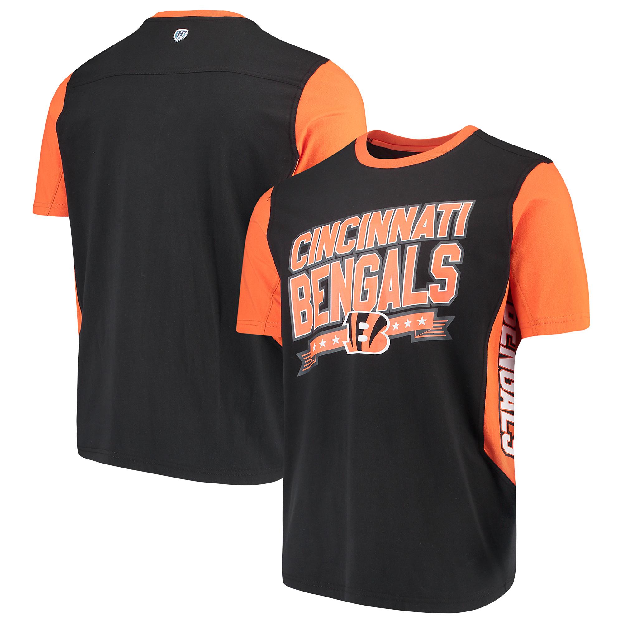 Cincinnati Bengals Hands High Rally T-Shirt - Black/Orange